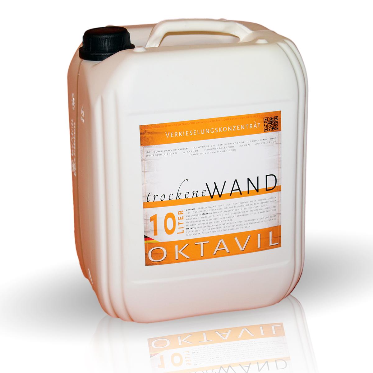 Beliebt OKTAVIL Trockene Wand 40 Liter + 48 Oktavil Injektionstrichter FQ57